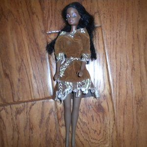Other - Vintage 1990's Doll Black Hair African American